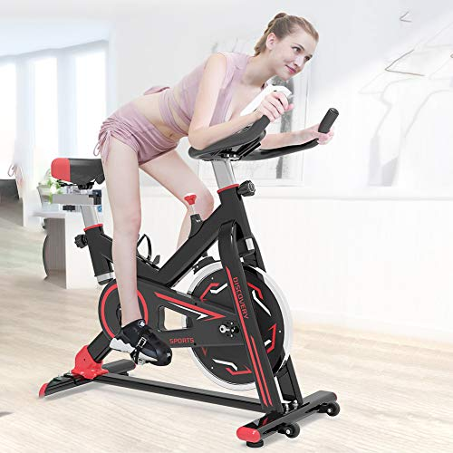Why Choose GAYBJ Home Exercise Bike Indoor Cycling Bike Cardio Workout Display Adjustable Handlebars Seat Height Fitness Bike Ideal Cardio Trainer