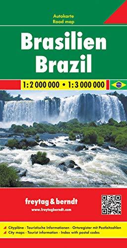 Brasilien, Autokarte 1:2.000.000 - 1:3.000.000