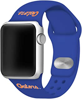AFFINITY BANDS Florida Gators Silicone Watch Band Compatible with Apple Watch (38mm/40mm Gators) - Licensed NCAA Watch Band
