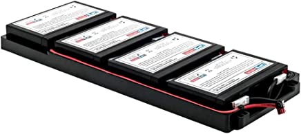 New Battery Pack for APC Smart-UPS 1500VA RM 2U 120V Shipboard SUA1500R2X93 Compatible Replacement by UPSBatteryCenter