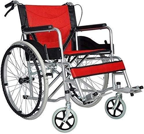 CHUNSHENN Wheelchairs Thickened Old Man Wheelchair NEW before selling ☆ latest Porta Folding