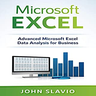 Microsoft Excel: Advanced Microsoft Excel Data Analysis for Business audiobook cover art