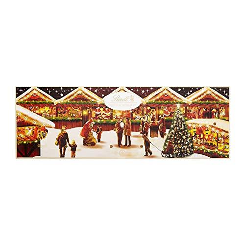 Lindt Weihnachtsmarkt Adventskalender (24 verschiedene Lindt-Spezialitäten) 250g