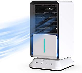 comprar comparacion AiHom Ventilador de Aire Fría de Encimera Mini Aire Acondicionado Función de Temporizador y Humidificación Operación Intel...