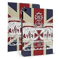 Ipad 2018 2017 ケース アイパッド 2017 9.7 Ipad Air2 Ipad Air ケース 手帳型保護カバー イギリスの国旗とクラウン 全面保護 耐衝撃 傷つけ防止 二つ折 超軽量 オートスリープ 高級pu レザーケース