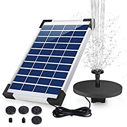 HEYSTOP 5.0W Solar Fountain Pump - Top 10 Best Solar Pond Pumps