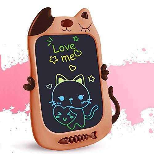 Preisvergleich Produktbild ZYBB 8.5In Kinder Bunte LCD-Schreibtafel Elektronische Grafik Zeichnung Doodle Board Löschbare Tragbare Doodle Mini Board Toy Frühe Pädagogische Schreibtafel Für Kinder Braun
