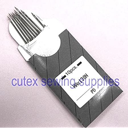 Metric 80//12 10 Organ HAX130N Top-Stitch and Embroidery Flat Shank Home Sewing Machine Needles ~ Multiple Sizes!