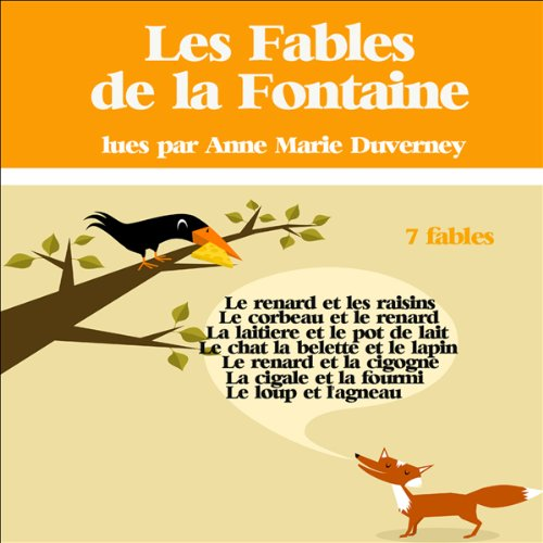 Couverture de 7 fables de la Fontaine