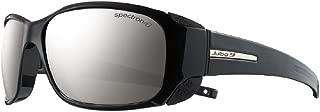 Julbo Women's Monterose Mountain Sunglasses, Black/Black, Spectron 4 Lens, Small