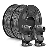 JAYO ABS Filament 1.75mm, 2kg Spool (4.4lbs) ABS 3D Printer Filament, Accuracy +/- 0.02 mm, No Tangle, No Clogging, Tougher Than PLA, Fit Most FDM Printers, ABS Grey+Grey