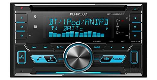 Kenwood DPX5000BT Doppel-DIN Radio USB / CD Receiver inklusive Bluetooth-Freisprecheinrichtung Tuner