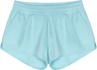 Rocorose Women's Beach Board Shorts Quick Dry Summer Sports Swim Trunks with Side Pocket