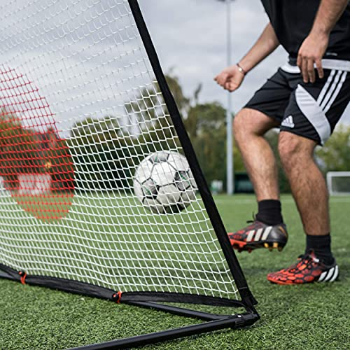 QUICKPLAY Spot Target Soccer Rebounder | Perfect for Team or Solo Soccer Training | Features Free Training App (i) 5x3'