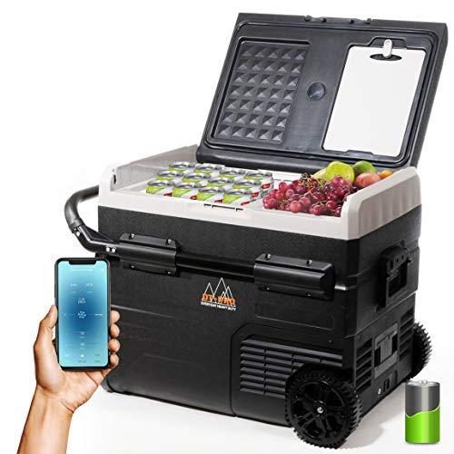 Portable Freezer Cordless Camper Refrigerator Dual...