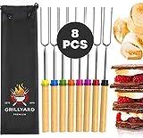 GRILLYARD Marshmallow Sticks – 6 pcs...