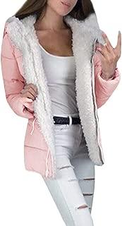 Fashion Thicken Coats Women Winter Long Sleeve Jacket Warm Outerwear Zipper Overcoat E-Scenery