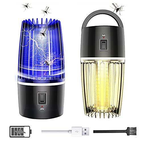 Roeam Lámpara Camping LED USB Recargable con Batería de 4000 mAh, Mosquito Asesino Portatil para Camping, Senderismo, Pesca