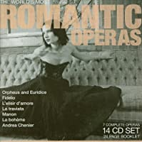 The World's Most Romantic Opera by Scotto/Bergonzi/Pavarotti/Freni etc (2007-10-16)