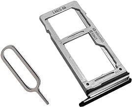 Draxlgon Dual/Single SIM Card Tray Slot Holder + Micro SD Memory Sim Holder Adapter for Galaxy Note9 Note 9 N960 N9600 N960F SM-N960U SM-N960F/DS Black 2 sim