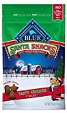 Blue Buffalo Santa Snacks Tasty Chicken Recipe Soft Dog Treats, 4.5-oz Bag