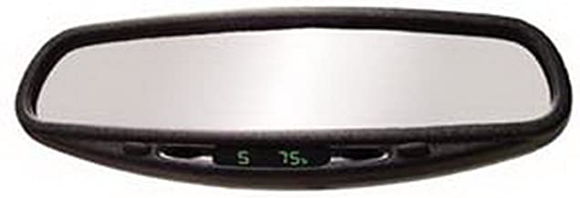 CIPA 36400 Wedge Auto Dimming Rearview Mirror with Compass and Temperature
