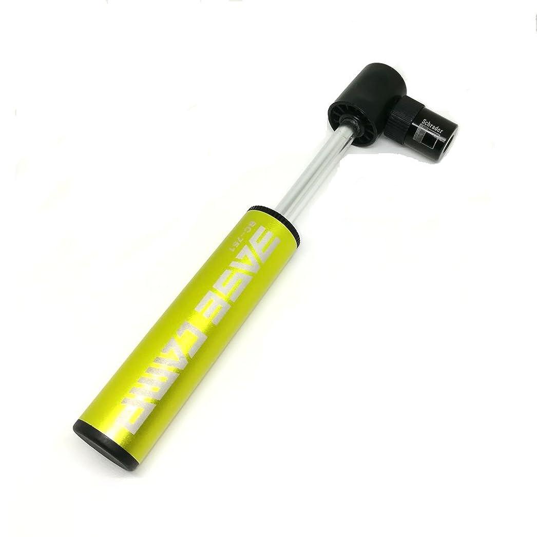 パラシュートハント組み込むYOGOGO 自転車 空気入れ アルミ製 ロードバイク 携帯ポンプ フロアポンプ ミニ米式/仏式バルブ対応