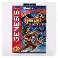 CHENZHEN ブラッドライン/ヴァンパイアキラー16ビットMDゲームカードセガメガドライブにフィットする創世記 (Color : US BOX 2 NTSC)