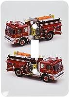 3Dローズ トラック ‐ 消防車 - 照明スイッチカバー - シングル トグルスイッチ - lsp_527_1 (並行輸入)
