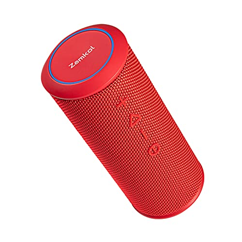 Bluetooth Lautsprecher Zamkol ZK606, 24 Watt, HiFi 360° Stereo Sound,...