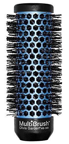 Olivia Garden MultiBrush Bürstenkörper für Profi-Rundbürste (antistatisch), keramikbeschichtet, als Lockenwickler verwendbar (Griff separat erhältlich), Durchmesser 36 mm, für mittellanges Haar