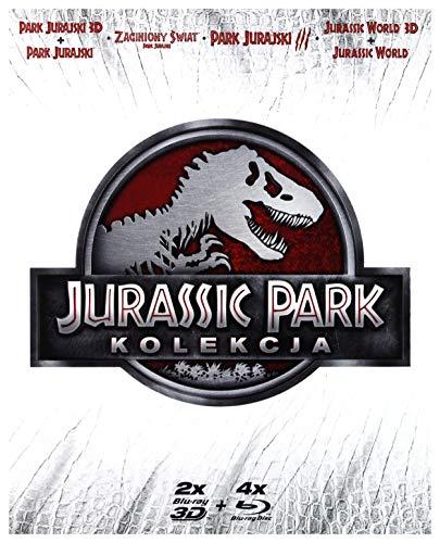 Jurassic Park 3D + The Lost World: Jurassic Park + Jurassic Park III + Jurassic World 3D (BOX) [6Blu-Ray] [Region Free] (IMPORT) (Keine deutsche Version)