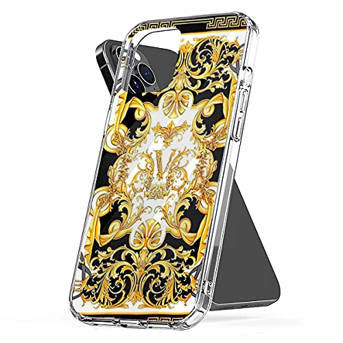 Phone Cover Case Compatible with iPhone Samsung Galaxy Versaces S20 6 7 8 Plus X Xs Xr 11 12 Pro Max Se 2020 Mini S9 S10 S21 Waterproof Scratch Accessories
