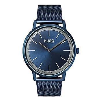 HUGO by Hugo Boss Men s Year-Round Quartz Watch with Stainless Steel Strap Blue 20  Model  1520011