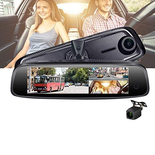 Lopbinte E09 7,84 Zoll 4G Auto Kamera Spiegel Android GPS Dvr Mit Zwei Kameras WiFi Auto Kamera Adas Remote Video Recorder