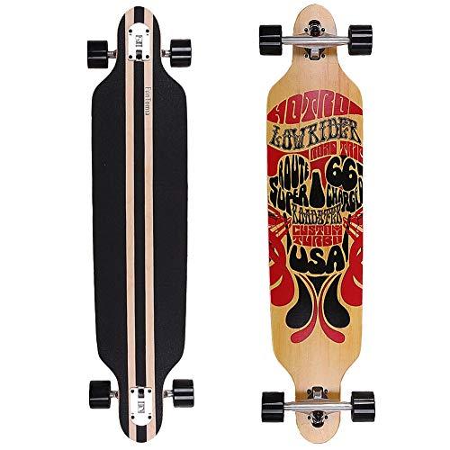 FunTomia® Freerider Longboard monopatín
