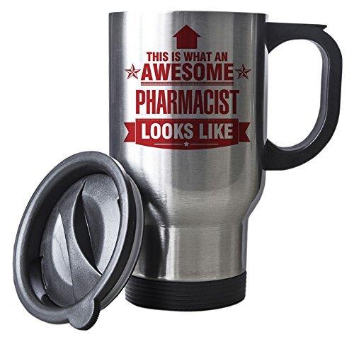 Duke Gifts Ce Rouge Est ce qu'un Travail Awesome Mug Pharmacien Ressemble Argent – Idée Cadeau
