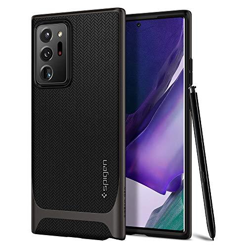 Spigen Neo Hybrid Hülle Kompatibel mit Samsung Galaxy Note 20 Ultra -Gunmetal