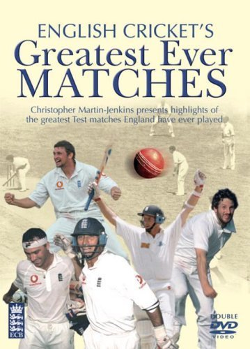 English Crickets Greatest Ever Matches [Edizione: Regno Unito] [Italia] [DVD]
