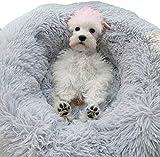 HUIMEIDE Hundebetten Plüsch Haustierbett Haustier Matte Katzensofa Hunde Kuschelbett Hundesofa Weicher Waschbar Katzenbett (70cm*20cm, Grau)