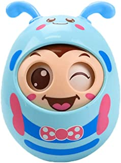 Blinks Eyes Musical Wobbler,Colorful Wobbling Melody,Roly Poly Toy for Kids 6 Months+, Educational and Fun