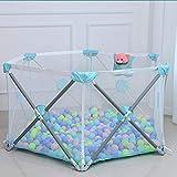 JHSHENGSHI Tente de Jeu de Balle pour Enfants, Parc bébé, Pop Up Tente de Jeu avec...