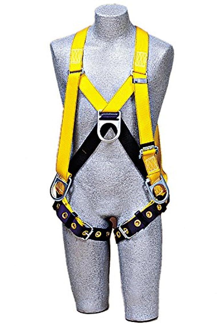 言い換えると免疫誰も3M DBI-SALA Delta 1102876 Step-In-Style-Full Body Harness, Front/Back/Side D-Rings, Tongue Buckle Leg Straps, Medium, Navy/Yellow by 3M Fall Protection Business