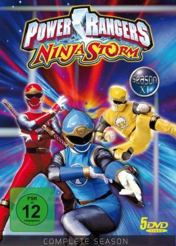 Power Rangers - Ninja Storm: Die komplette Staffel (5 DVDs)