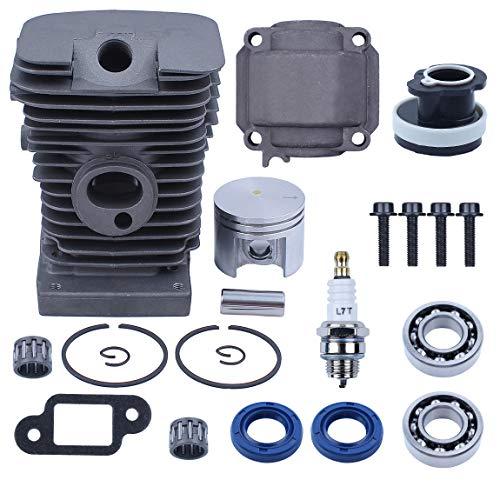 Haishine Cylinder Piston Pan Bearing Oil Seals Set Motore per STIHL MS180 018 MS 180 Seghe a Gas Motosega Parti del Motore 38mm Alesaggio 11300201208