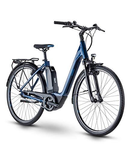 RAYMON CityRay E 2.0 CB Wave Unisex Pedelec E-Bike City Fahrrad blau 2021: Größe: 50 cm/M
