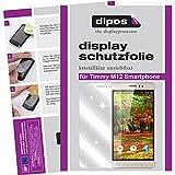 dipos I 6X Schutzfolie klar kompatibel mit Timmy M12 Smartphone Folie Displayschutzfolie