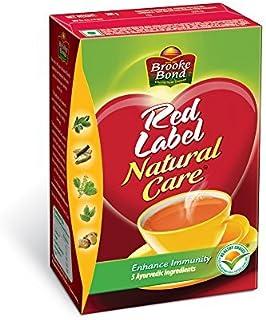 Brooke Bond Red Label -Natural Care(5 Ayurvedic Ingredients)500g by Brooke Bond