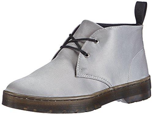 Dr. Martens Damen Daytona Satin Desert Boots, Silber (Silver), 43 EU
