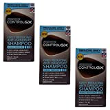 Just for Men Control GX - Champú anticaspa y reductor de canas para hombres (3 unidades).